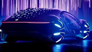 Mercedes-Benz Vision AVTR: Avatar Inspired Concept Car of the Future: AI Autonomous