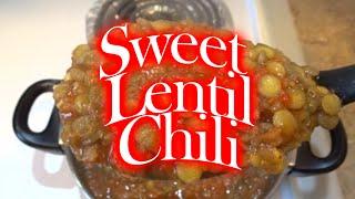 Sweet Lentil Chili Recipe