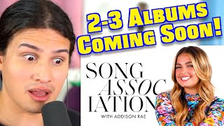 """Vocal Coach Reacts to Addison Rae's """"Song Association"""""""