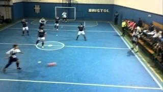 ALMAGRO FUTSAL (1) vs. BRISTOL(1) - (2da Fecha 2014) - 15 min 1er tiempo.