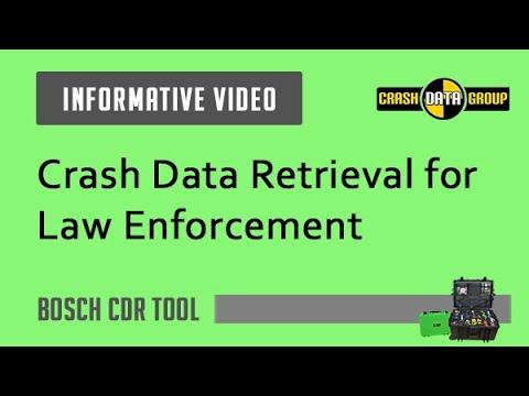 Crash Data Retrieval Tool for Law Enforcement - YouTube