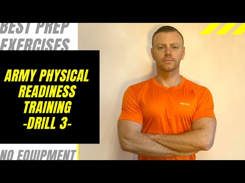 ARMY PHYSICAL READINESS TRAINING DRILL 3 Workout Video