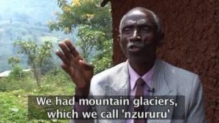 WWFs klimavitne Mbiwo Constantine Kusebahasa, Rwenzori-fjellene i Uganda