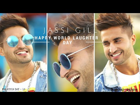 Jassi Gill Snapchat | Happy World Laughter Day - 6/5/2018