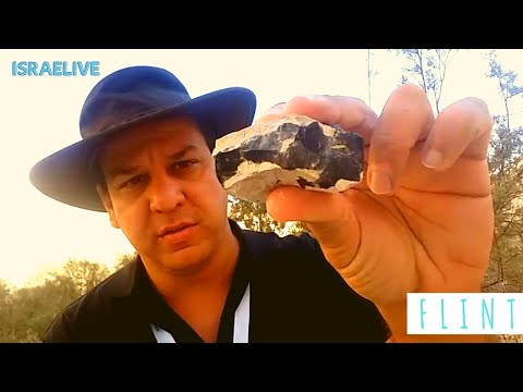 Tours in Israel - Flint Stone - Geological tour with guide Michael