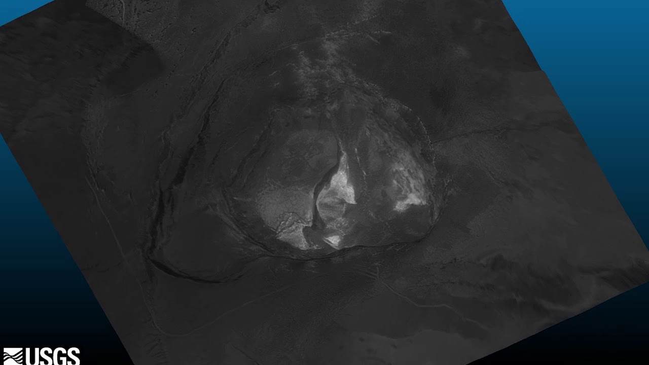 Kīlauea Volcano — Thermal Map of Halema`uma`u Crater (June 6, 2018)