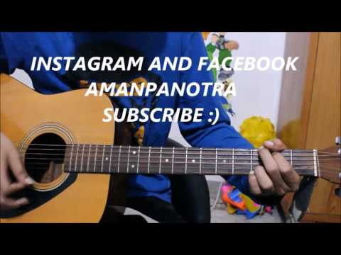 Thumbnail: Musafir - Atif Aslam - Latest Guitar Cover Lesson Chords