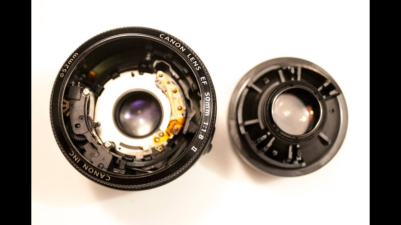 Repair Canon 50mm 18 F Youtube Lens Fix Yongnuo For