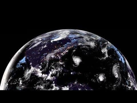 Hurricane Florence Satellite Time-Lapse: Formation to Landfall