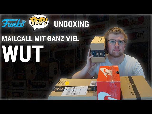 MAILCALL MIT GANZ VIEL WUT - FUNKO POP UNBOXING