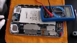 Tablet Samsung Não liga e/ou não carrega (resolvido)
