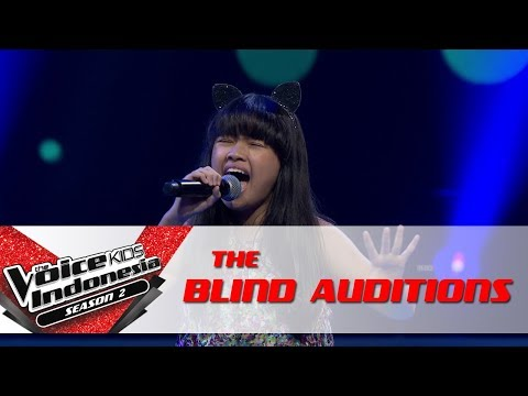 Raisa 'It Don't Mean A Thing' | The Blind Auditions | The Voice Kids Indonesia Season 2 GTV 2017