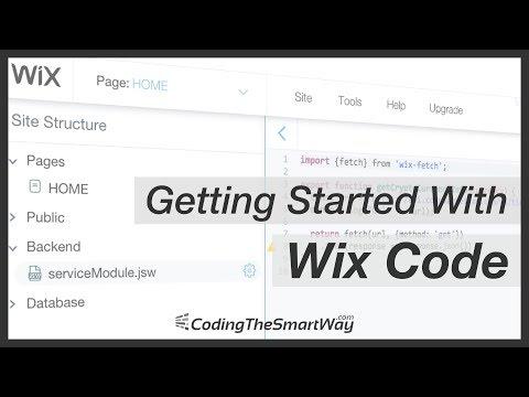 How to Create A Web App With External API Access using Wix Code
