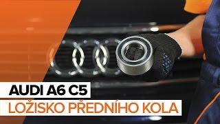 Jak vyměnit ložisko předního kola na AUDI A6 C5 [NÁVOD]