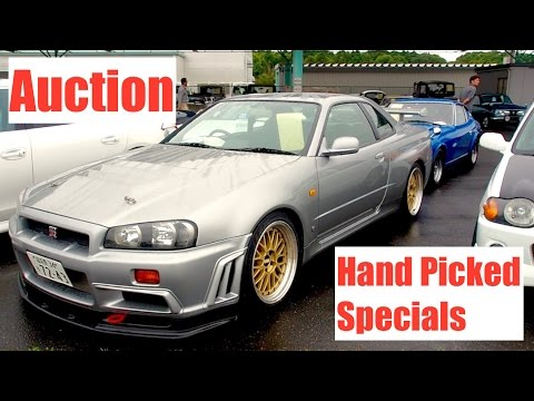 Japan Auction Walkaround #2 - Section For Unique Cars