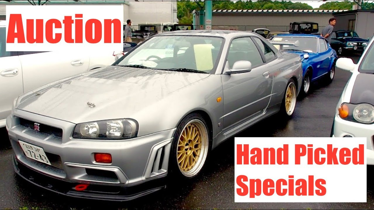 Japan Auction Walkaround #2 - Section For Unique Cars - YouTube