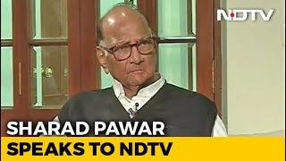 Sharad Pawar Tells NDTV, Easier To Work With Shiv Sena Than BJP. His Reason
