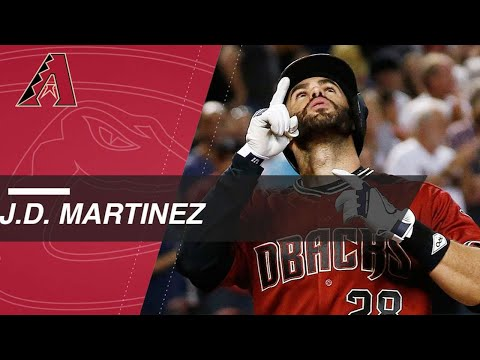 J.D. Martinez hits 21 homers as a Diamondback