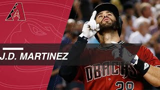 J.D. Martinez hits 21 homers as a Diamondback