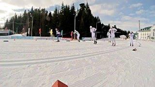 Спринт | Лыжные гонки(В Ханты-Мансийске прошли соревнования по лыжным гонкам. Для вас мы подготовили видео с гонки классический..., 2016-04-02T16:26:48.000Z)