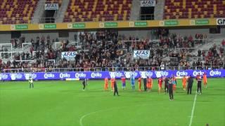 Réaction des supporters du KV Mechelen!