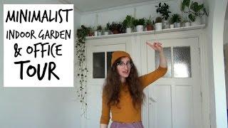 My Minimalist Indoor Garden + Office Tour | HiLesley-Ann