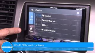 Pioneer AVH-X4700BS Display and Controls Demo | Crutchfield Video