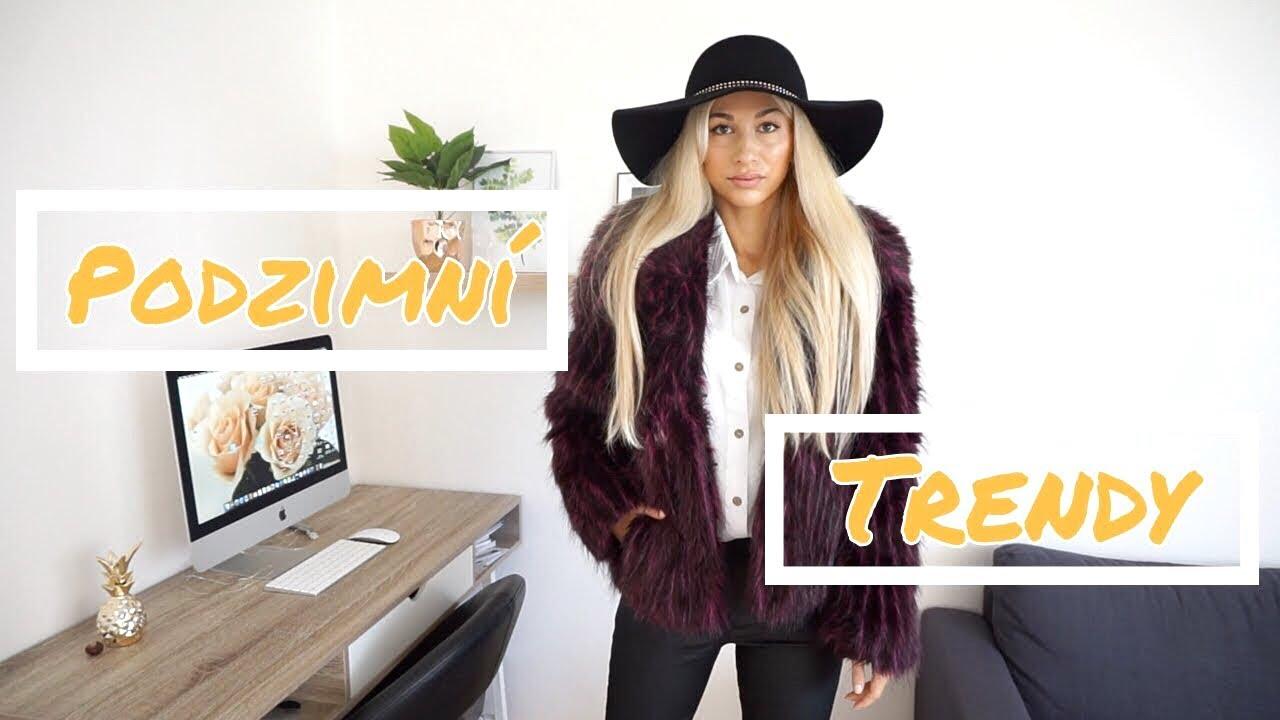 Podzimní trendy 2018 // Co si nakoupit na podzim? Podzimní outfity