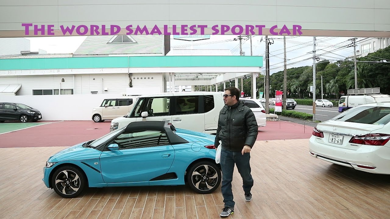 The World Smallest Sport Car Kagoshima Japan Youtube