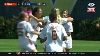 Texas vs West Virginia Soccer Highlights