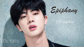 Video BTS ( Jin ) - 'ᴇᴘɪᴘʜᴀɴʏ' ( 3D Audio ) ( Use headphones ) download MP3, 3GP, MP4, WEBM, AVI, FLV Agustus 2018