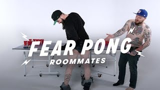Roommates Play Fear Pong (Spencer & Mickey) | Fear Pong | Cut
