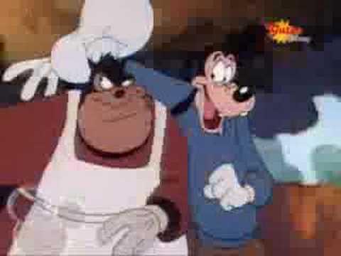 Goofy and Max German  lol