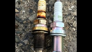 Rough Running engine after changing Spark Plugs - WRONG Plugs Installed