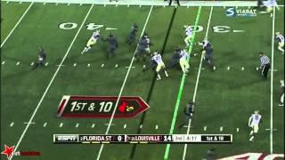 Eddie Goldman (DT FSU) vs Louisville 2014