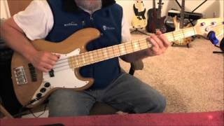 The Romantics - What I Like About You - Bass Cover