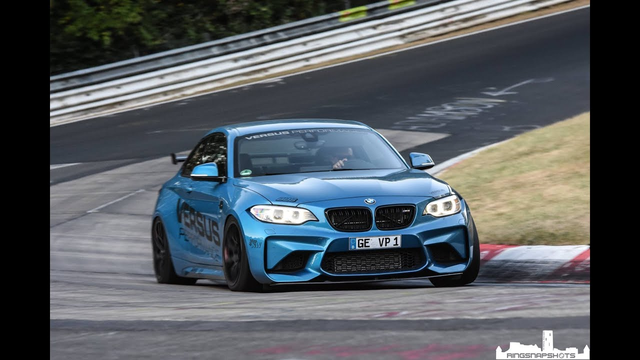 BMW Performance Exhaust >> BMW M2 + Very Fast Corvette Z06 / Nürburgring Nordschleife ...