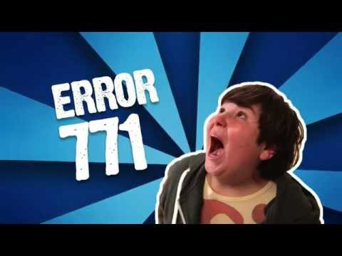 DIRECTV® - Error 771 DIRECTV - Pantalla Azul