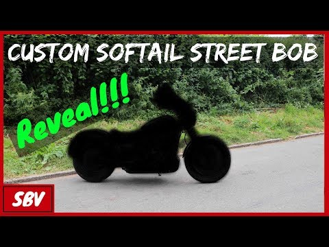Custom Softail Street Bob Reveal - Club Style Harley Davidson