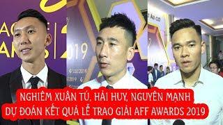 Sao V.League 2019 tin ĐT Việt Nam sẽ ẵm trọn giải thưởng tại AFF Awards 2019 | Next Sports