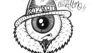 How to draw a one eye gangsta character - Como dibujar un cholo con ojo graffiti