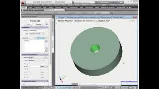 La fuerza centrifuga en AutoFEM (el sistema de análisis de elementos finitos)