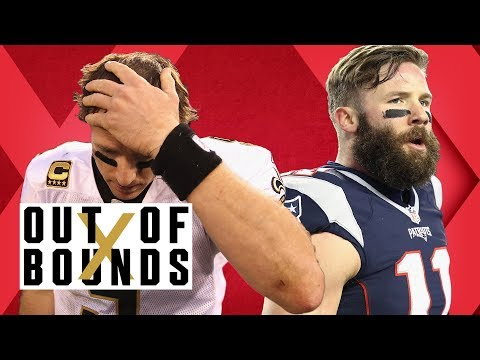 Edelman Prevents Shooting; Brees $9MM Jewelry Scam; Manziel Blames Browns | Out of Bounds