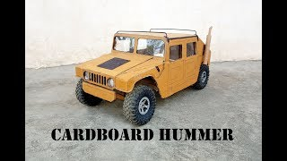 WOW! Super RC Hummer Car (Humvee) || How to make RC Hummer H1 out of cardboard || DIY at home