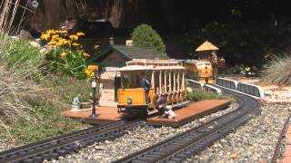 Garden Railway Tour - Pb&w