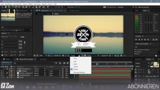 |After Effects Hipster Intro Template/Vorlage| + Tutorial (German/Deutsch)