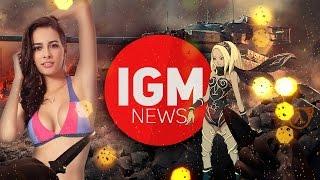 IGM NEWS - Почему перенесли NFS и Hitman ?!