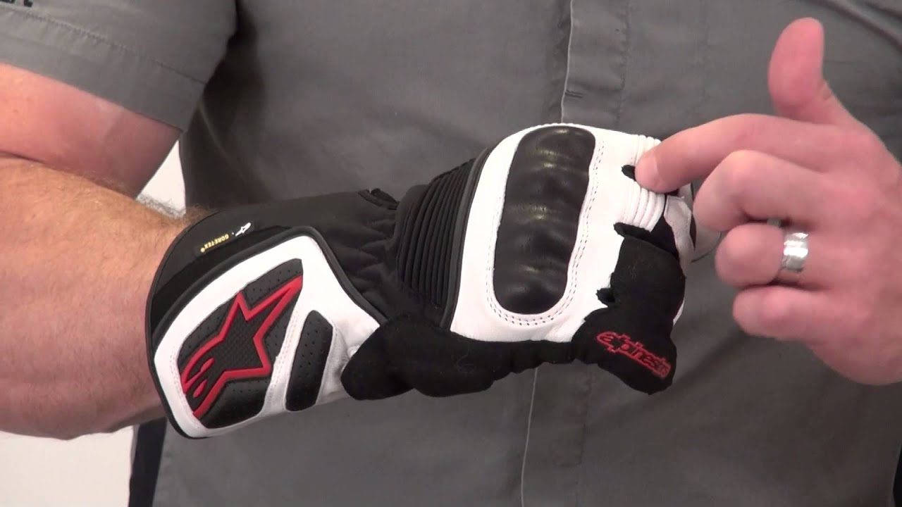 Xtrafit motorcycle gloves - Alpinestars Gt S Gore Tex X Trafit Glove Review From Sportbiketrackgear Com Youtube