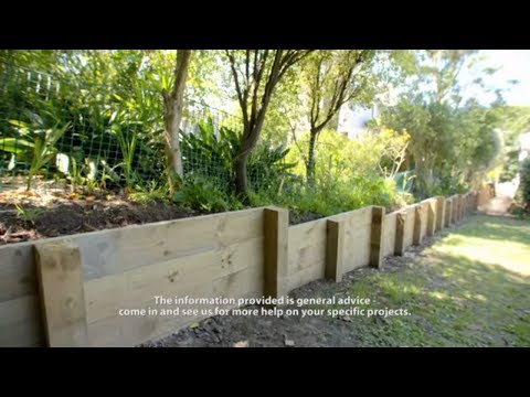 How To Build A Retaining Wall | Mitre 10 Easy As