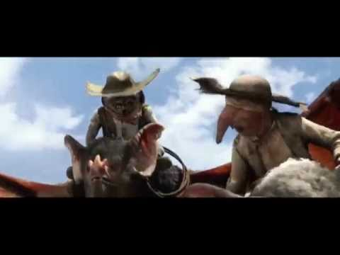 Rango: Bats Scene  Ride of the Valkyries